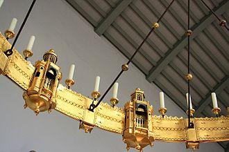 Azelin chandelier - Detail