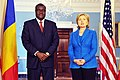 Hillary Clinton meets with Chadian Minister of Foreign Affairs Moussa Faki, July 2009-2.jpg