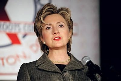 Hillary Clinton speaking at Families USA