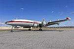 Historical Aircraft Restoration Society (VH-EAG) Lockheed Super Constellation 'Connie' taxiing at Wagga Wagga Airport (5).jpg