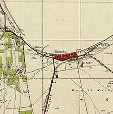 Historische Kartenserie für das Gebiet von Samakh, Tiberias (1940er Jahre) .jpg