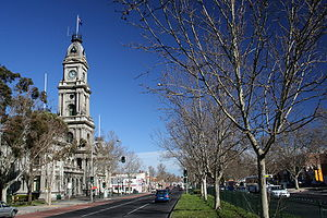 Collingwood Town Hall - Collingwood Town Hall on Hoddle Street