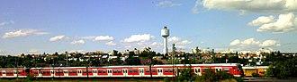 Tamm - Stuttgart S-Bahn train in Tamm