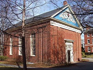 Samuel Holden - Holden Chapel in Harvard Yard, named for Samuel Holden