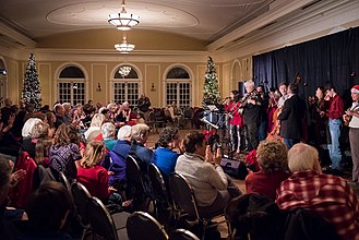 Oxford, Ohio - A holiday concert takes place at the Oxford Community Arts Center in December 2017