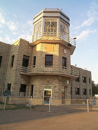 St. Paul Downtown Airport - Image: Holman Control tower