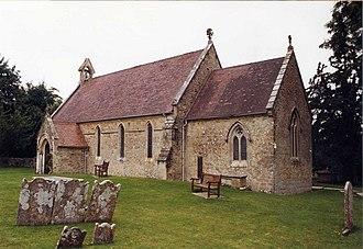 Holy Cross Church, Binstead - Image: Holy Cross, Binstead geograph.org.uk 1174110