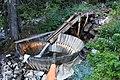 Holzwaschmaschine im Piringebirge.jpg