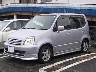 Honda Capa - Image: Honda capa 1st front