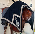 Horse saddle and cloth WP Police ACC rank.jpg