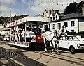 Horse tram approaching Derby Castle - geograph.org.uk - 1591448.jpg