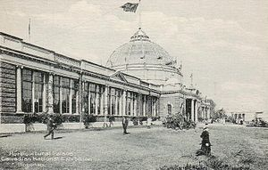 George Wallace Gouinlock - 1927 postcard of the Horticultural Palace at the Canadian National Exhibition, Toronto, Ontario, Canada