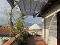 Hotel medici, terrazza, veduta battistero 01.JPG
