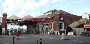 Hove railway station - Image: Hove Station Frontage