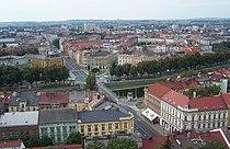 Hradec Králové - pohled směrem k nádraží.JPG