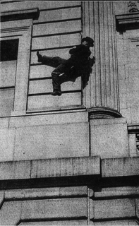 Harry Gardiner American urban climber