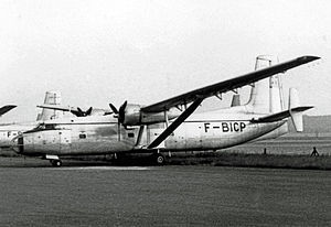 Institut géographique national - Hurel-Dubois HD.34 survey aircraft of the IGN at Creil in 1967