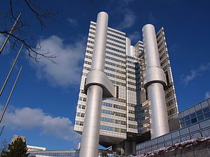 Bogenhausen - HVB Tower at Arabellapark