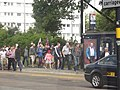 ICC Champions Trophy - Edgbaston Cricket Ground - England vs Australia - fans arriving (8986763747).jpg