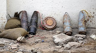 Improvised explosive device homemade bomb