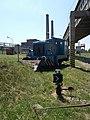 III-1 railway point, LKM V 22 B, Bakony Power plant, 2019 Ajka.jpg
