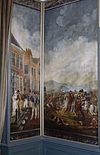 interieur, bovenkamer, geschilderd behang, panelen - nieuwenhoorn - 20264310 - rce