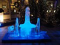 Ice sculpture in front of restaurant Kappeli.jpg