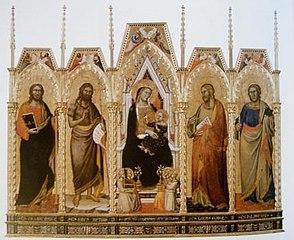 Polyptyque de l'église Santa Felicita