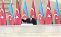 Ilham Aliyev and Recep Tayyip Erdogan attended the parade dedicated to 100th anniversary of liberation of Baku 05.jpg
