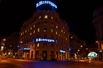 Il Messaggero - Il Messaggero headquarters in Rome
