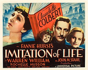 Description de l'image Imitation of Life (1934 poster - alt half-sheet).jpg.