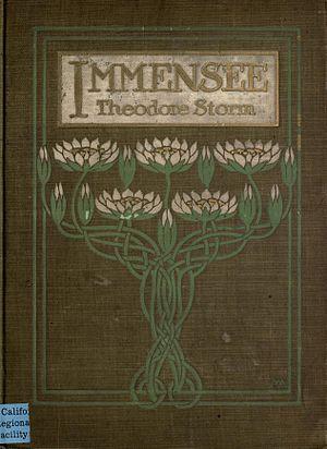 Immensee (novella) - Image: Immensee, cover art