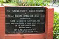 Inaugural Plaque - University Guest House - Bengal Engineering and Science University - Sibpur - Howrah 2013-06-08 9326.JPG