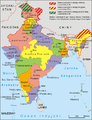 India administrative map 1966 PL.png