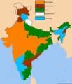 Indian states according to party of their chief ministers 17.png