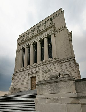 Deutsch: Indiana World War Memorial, Indianapo...