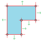Indirect equiangular polygon.png