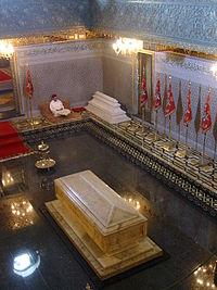 Inside Mohammed V mausoleum.jpg