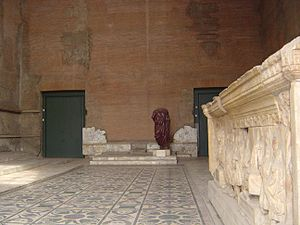 Curia Julia - Inside the restored Curia Julia (2006).