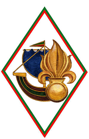 Foreign Legion Recruiting Group - GRLE Unit Badge