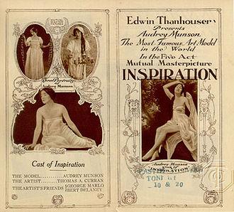 Inspiration (1915 film) - Promotional brochure