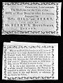 Instructions for administering Hill and Berry's medicine. Wellcome L0000968.jpg