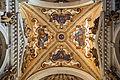 Interior of Santi Giovanni e Paolo (Venice) - Chapel's ceiling by Giambattista Lorenzetti.jpg