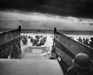 Omaha Beach - Image: Into the Jaws of Death 23 0455M edit