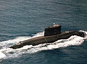 One of Iran's 6 SSK Kilo class submarines