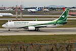 Iraqi Airways, YI-ASQ, Boeing 737-81Z (44385227575).jpg