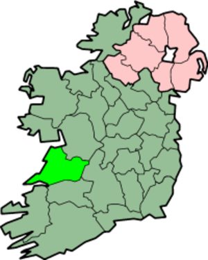 Tubridy - Tubridy is found in County Clare.