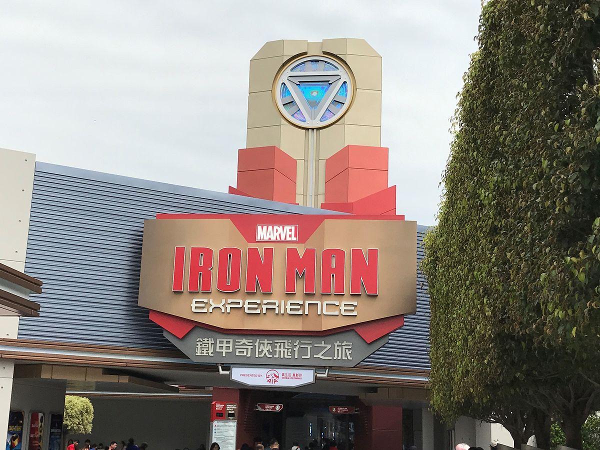 Iron Man Experience - Wikipedia