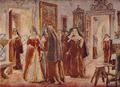 Isabel de Sabóia no Convento da Esperança (Roque Gameiro, Quadros da História de Portugal, 1917).png