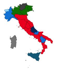 Regioni d 39 italia wikipedia for Politica italiana wikipedia